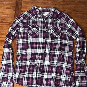 O'Neill women's flannel XL